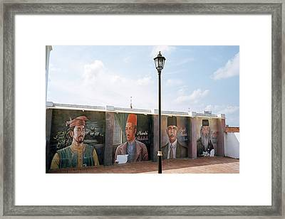 The Intellectuals Framed Print by Shaun Higson