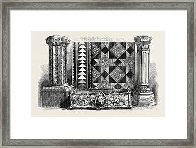 The International Exhibition Clay Manufactures Framed Print