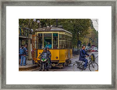 The Intersection Framed Print by Capt Gerry Hare