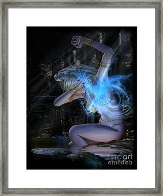 The Interuption Framed Print
