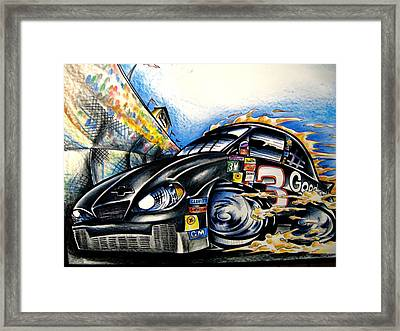 The Intimidator Framed Print by Big Mike Roate