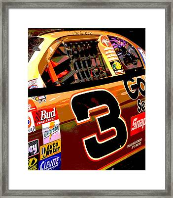 The Intimidator Framed Print
