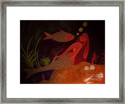 Framed Print featuring the digital art The Intruder by Latha Gokuldas Panicker