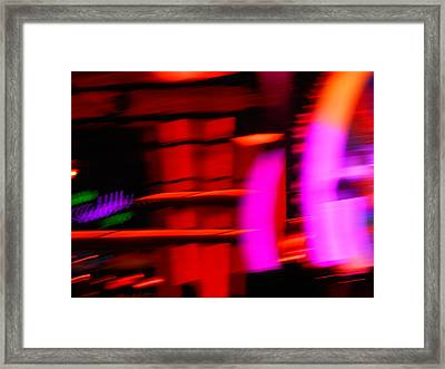 The Invasion Of Pink Passion Framed Print by James Welch
