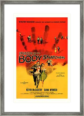 The Invasion Of The Body Snatchers 1956 Framed Print