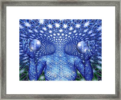 The Invention Of Duality Framed Print