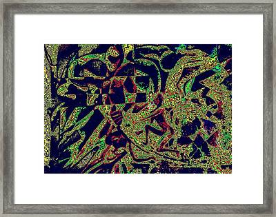 The Investigator Aims For Truth Within Framed Print