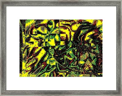 The Investigator Is Tireless In His Work Framed Print