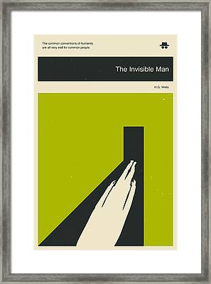 The Invisible Man Framed Print by Jazzberry Blue