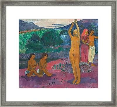 The Invocation Framed Print by Paul Gauguin