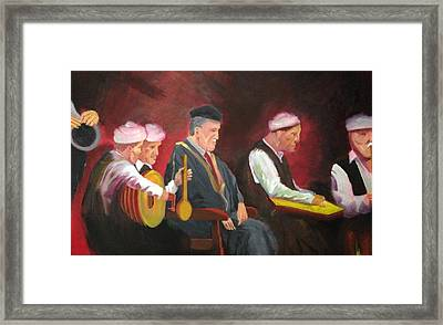 The Iraqi Maqam Framed Print by Rami Besancon