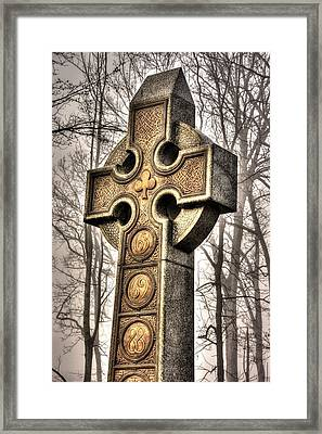 The Irish Brigade At Gettysburg  63rd-69th-88th New York Infantry St. Patricks Day 2012 Close-b Framed Print