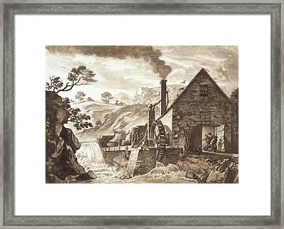 The Iron Forge Between Dolgelli Framed Print