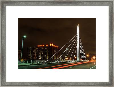 The Iron Ho Ho Framed Print by Randy Scherkenbach