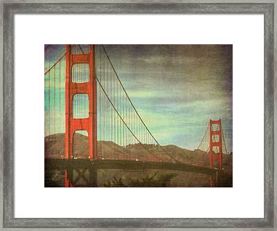 The Iron Horse Framed Print