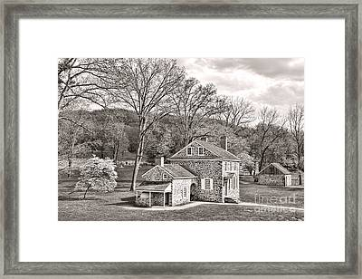 The Isaac Potts House Framed Print