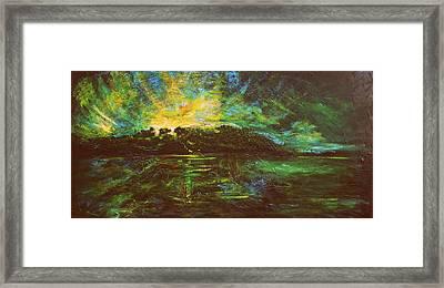 The Isle Framed Print