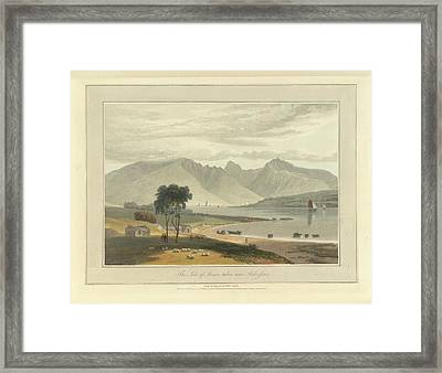 The Isle Of Arran Near Ardrossan Framed Print