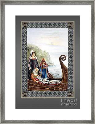 The Isle Of Avalon Framed Print by Melissa A Benson