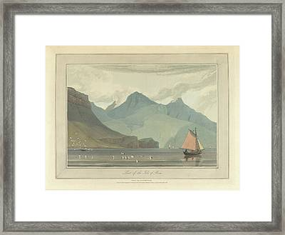 The Isle Of Rum Framed Print by British Library