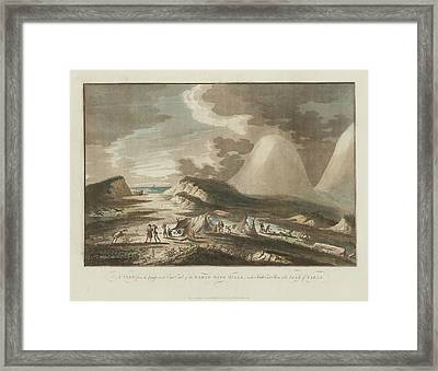 The Isle Of Sable Framed Print by British Library