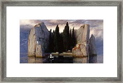The Isle Of The Dead Framed Print