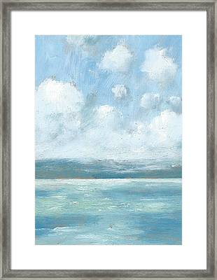 The Isle Of Wight From Portsmouth Part Six Framed Print by Alan Daysh
