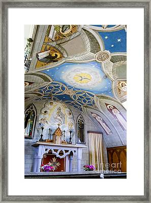 The Italian Chapel Mural Orkney Framed Print by Tim Gainey