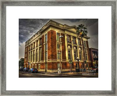 The Italian Club Framed Print by Marvin Spates