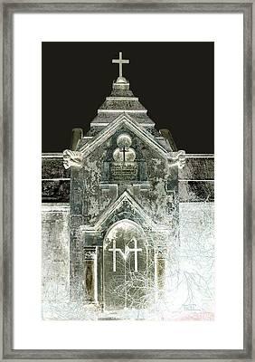 The Italian Vault 2 Framed Print