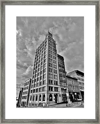 The Jackson Building Framed Print