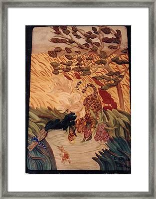 The Jaguar  Framed Print by Charles Lucas