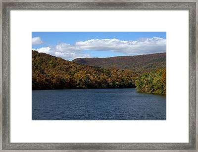 The James At Snowden Framed Print by Cathy Shiflett