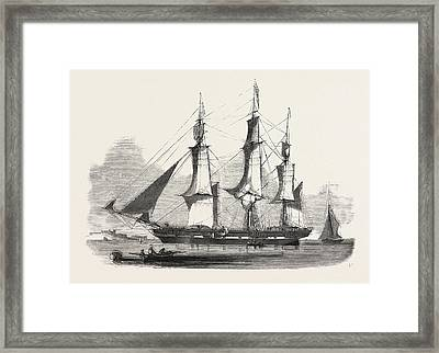 The James Booth, Aberdeen Clipper Framed Print by English School