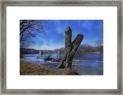 The James River One Framed Print