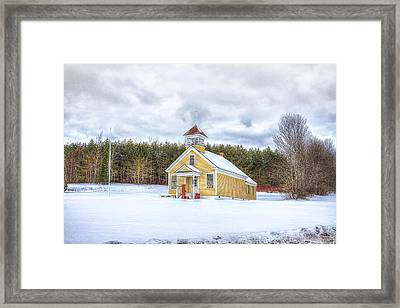 The James School Framed Print by Gary Smith