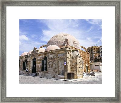 The Janissaries Mosque  Framed Print by Patricia Hofmeester