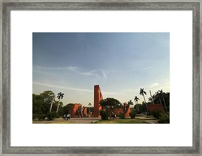 The Jantar Mantar Complex Framed Print
