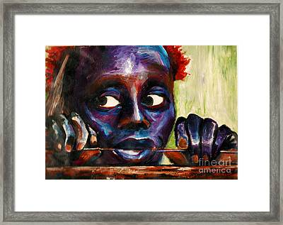 The Jarawa Tribe Framed Print