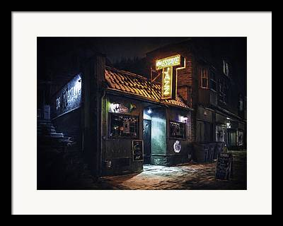 Store Fronts Framed Prints