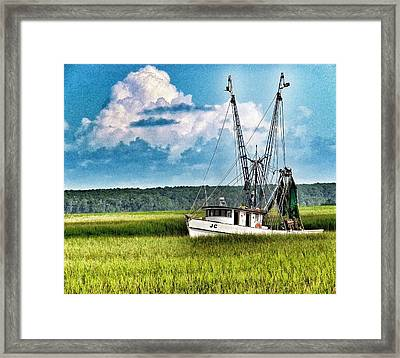 The Jc Coming Home Framed Print