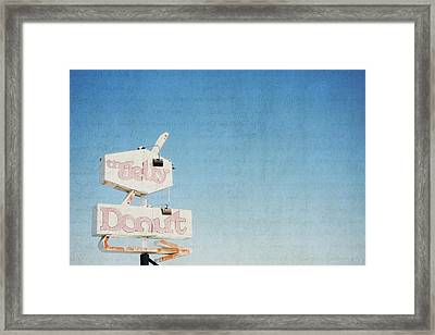 The Jelly Donut - California Framed Print