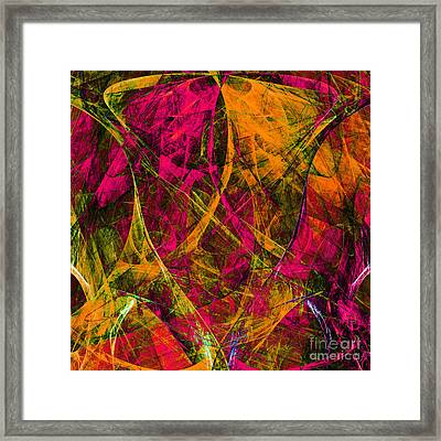 The Jester 20130510 Square Framed Print
