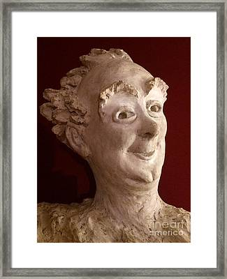 The Jester Framed Print by Barbara Chase