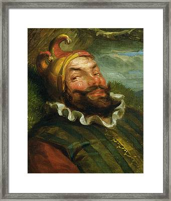 The Jester Framed Print by George Henry Hall