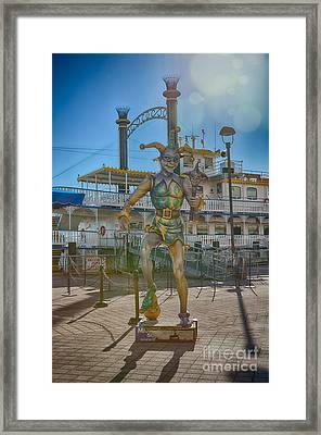 The Jester Framed Print by Kay Pickens