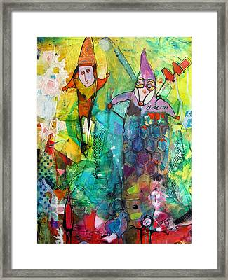 The Jesters Framed Print