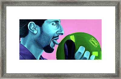 The Jesus Framed Print by Ellen Patton