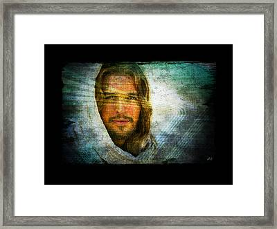 The Jesus I Know Framed Print by Absinthe Art By Michelle LeAnn Scott