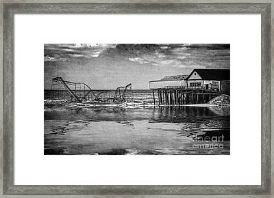 The Jetstar Framed Print by Debra Fedchin